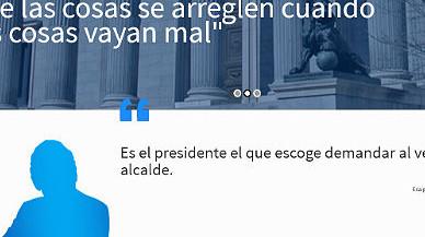 'El Mundo Today' reobre la web satírica sobre Rajoy