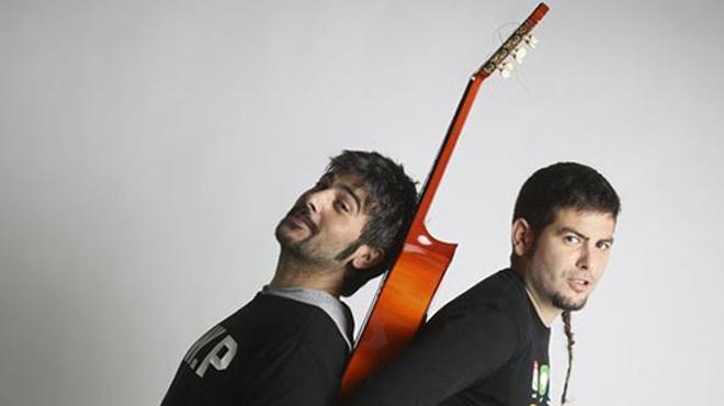 El duo fent una balada: 'Cuando tú te vas'