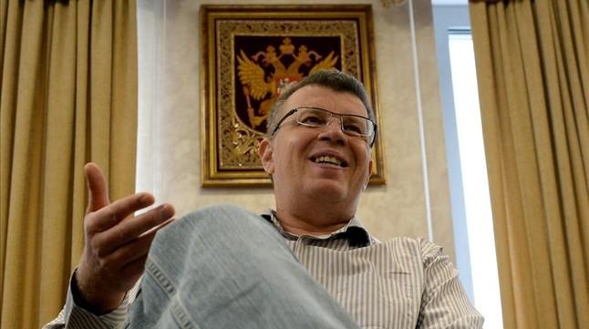Muere, aparentemente de un infarto, el exdirector de la agencia rusa antidopaje