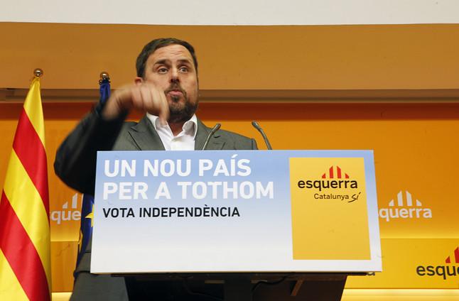 Junqueras se inclina por apoyar a Mas desde fuera del Govern