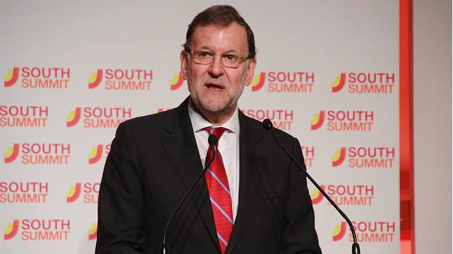 """Rajoy dice que Espa�a tiene """"un proyecto com�n ilusionante"""" y promete """"bajar m�s los impuestos""""."""