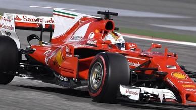 Vettel guanya a Bahrain i ja lidera el Mundial de F-1