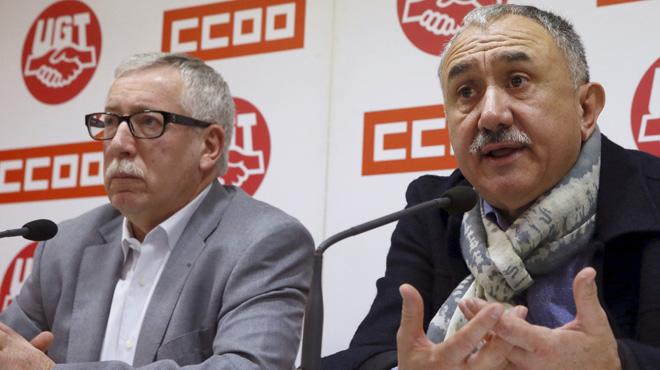 """Els sindicats convoquen manifestacions per diumenge per uns """"salaris dignes"""""""