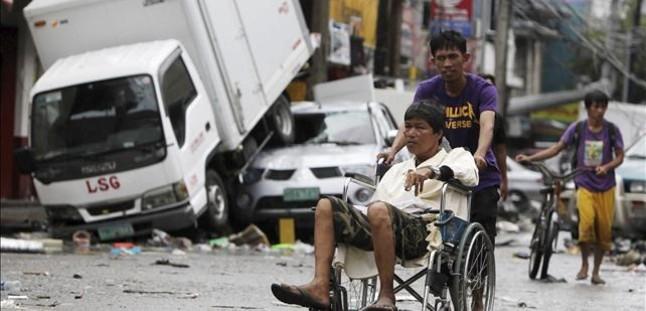 La ONU compara el desastre de Filipinas con el tsunami del 2004