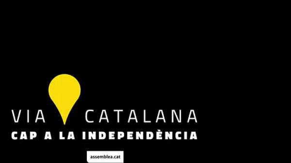 Vídeo promocional con el que se ha dado comienzo a la campaña de inscripción a la 'Vía Catalana'.