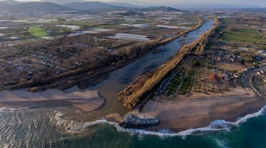 El delta de la Tordera es va formar fa tres segles
