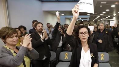 """Marta Rovira: """"¿Pròxima presidenta? Tots farem el que calgui"""""""