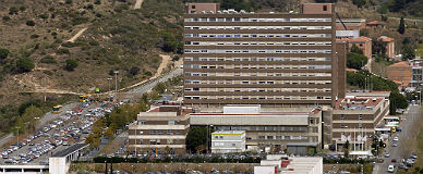 Imagen a�rea del Hospital GermansTrias i Pujol (Can Ruti) de Badalona.