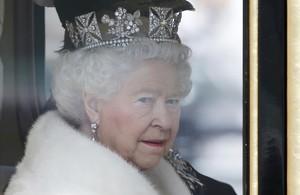 Reina Isabel de Inglaterra.