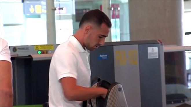 Paco Alc�cer, el pr�ximo fichaje del Bar�a, en Barcelona