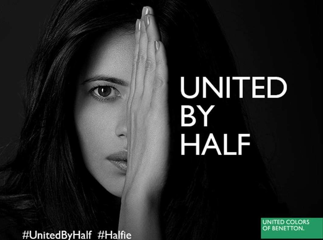 Benetton lanza una campaña reivindicativa por la igualdad de género