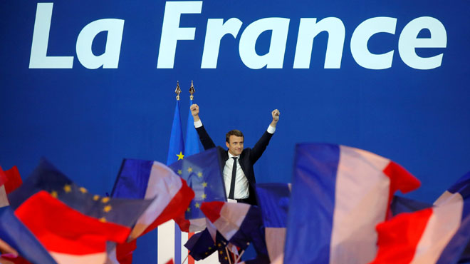 Macron y Le Pen se enfrentarán dentro de dos semanas en la segunda ronda de las presidenciales francesas.