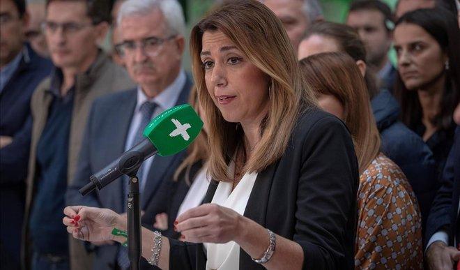 susana díaz afirma solo presentará investidura cuenta apoyos