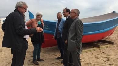 Badalona restaura tres barcas como símbolo de su patrimonio marinero