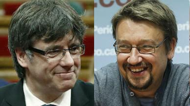 Puigdemont cita Domènech per parlar del referèndum