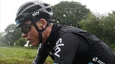 Busquen motors ocults a la bicicleta de Chris Froome