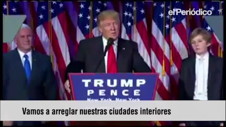 Discurso- Donald Trump subtitulado