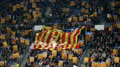 'Welcome to Catalonia' en el Camp Nou