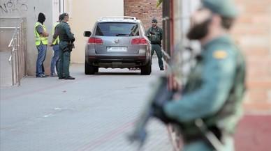 Interior compensará con 80 euros por día a los guardias civiles comisionados forzosamente en Catalunya