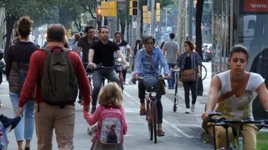 TV-3 analitza el creixent ús de la bicicleta a Barcelona
