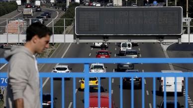 Madrid apuja l'aposta i vol limitar la M-30 i els accessos a 70 quilòmetres per hora