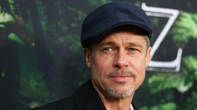 La sonrisa triste de Brad Pitt