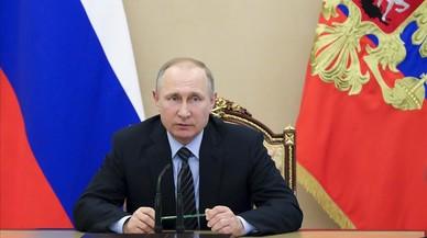 """Putin: """"No tinc dies dolents perquè no soc una dona"""""""