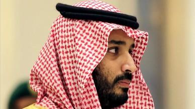 Mohamed Salman, hijo del rey de Arabia Saudí, nombrado heredero por el monarca.