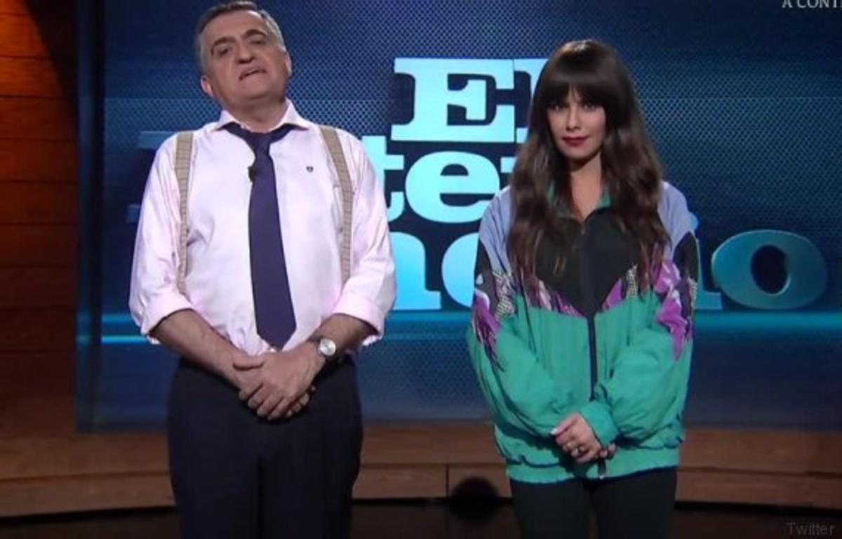 """Cristina Pedroche reivindica el xandall de tactel com a """"vestit regional de Vallecas"""""""