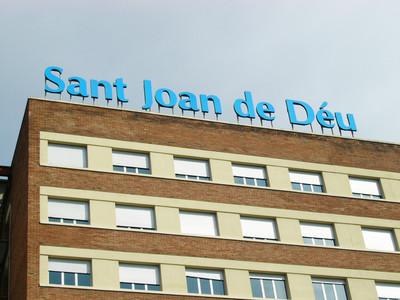 Fachada frontal del hospital Sant Joan de D�u.
