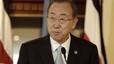 """Ban Ki-moon diu que el bombardeig a l'escola """"és un ultratge moral i un acte criminal"""""""