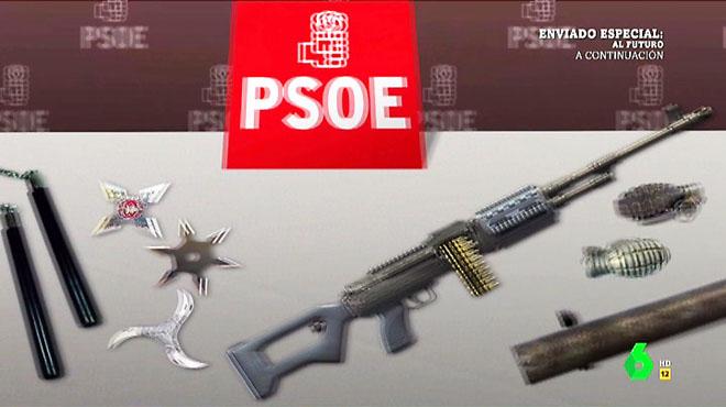 Líders del PSOE van armats