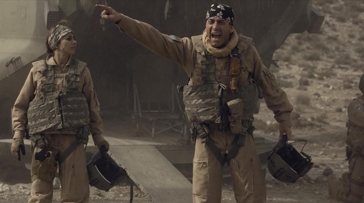 'Zona hostil', les entranyes de l'Exèrcit