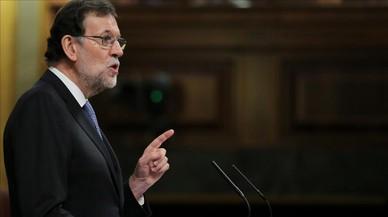 Rajoy menysprea l'actitud del PSOE davant l'independentisme a Catalunya