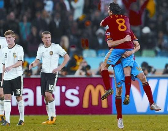 Johan Cruyff: 'Espa�a ya es la gran favorita'