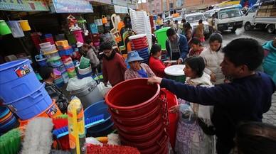 Evo Morales declara l'emergència nacional a Bolívia per l'escassetat d'aigua