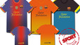 Camisetas del Bar�a de la temporada 2012-13