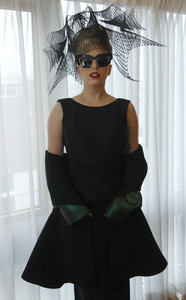 Lady Gaga, antes de la presentación del tour 'Born This Way'.