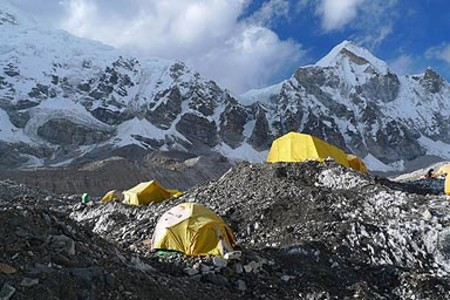 Campamento base Everest.