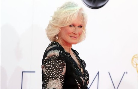 La actriz Glenn Close, en la entrega de los premios Emmy.