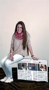 NÚRIA MOLINA. ESTUDIANT DE PRIMER DE MEDICINA. 18 ANYS.