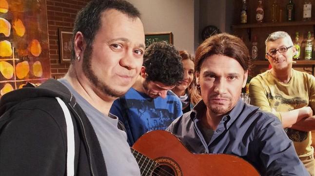 Pablo Iglesias (Marc Rodríguez) debuta en el 'Polònia' de TV-3.