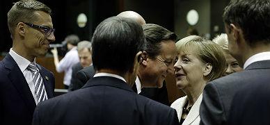 Angela Merkel habla con David Cameron, el s�bado.