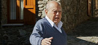Jordi Pujol, el pasado 23 de agosto, en Queralbs.