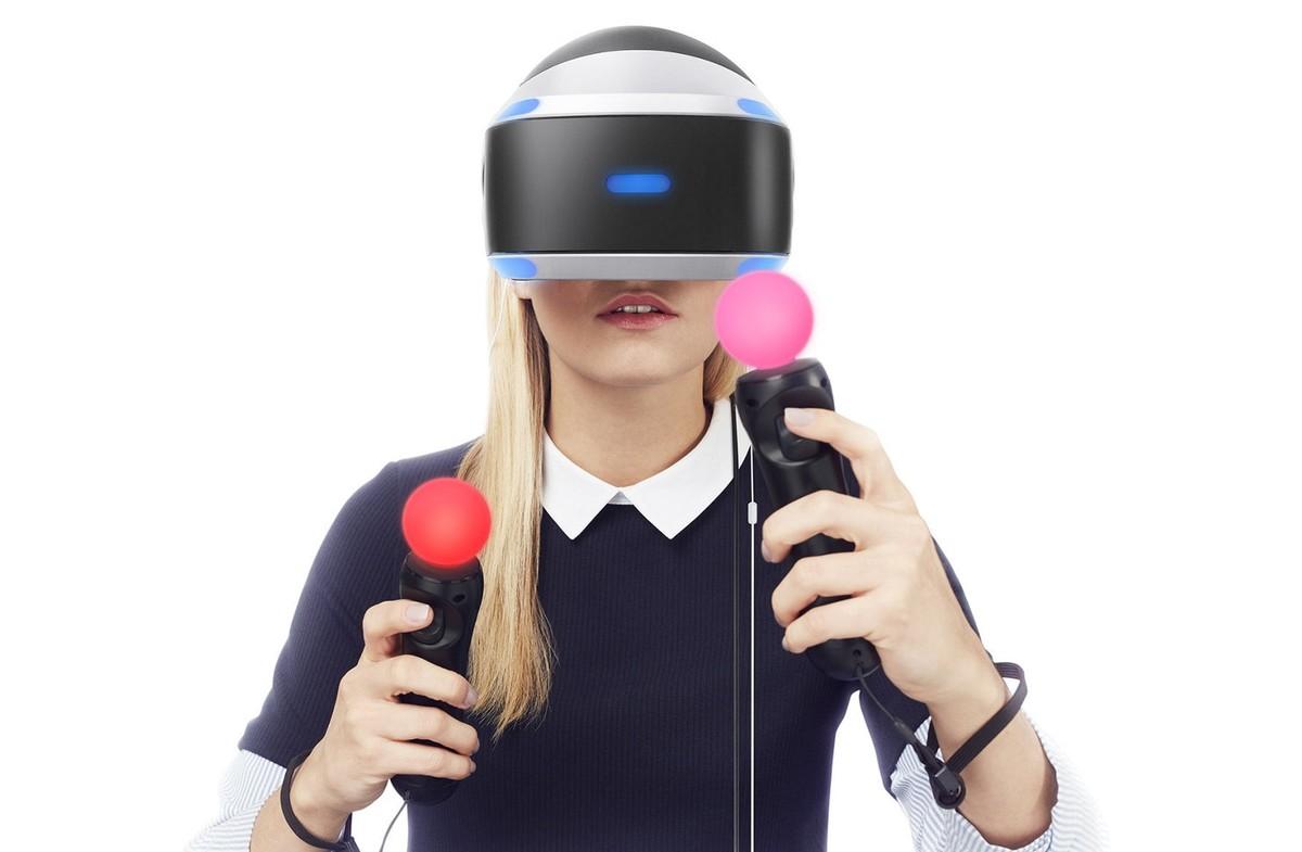 Playstation VR, el casco de realidad virtual de Sony.