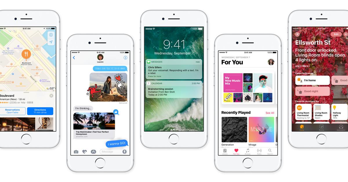 Les novetats de iOS 10 d'Apple, que ja es pot descarregar