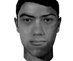 Retrato robot del posible secuestrador de Pilar Garrido.