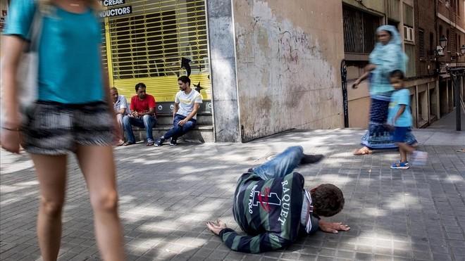 prostitutas en la playa zona prostitutas barcelona