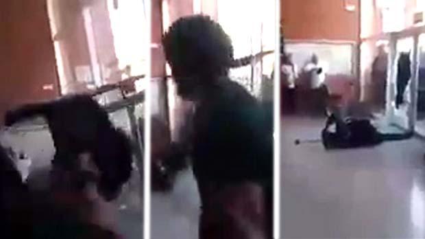 Detingut per llançar una cadira a un guàrdia civil en un col·legi de l1-O