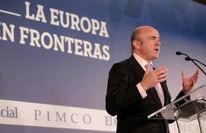Intervención del ministro Luis de Guindos en el foro la Europa sin fronteras.